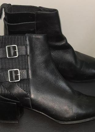 Ботинки женские кожаные большой размер