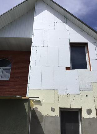 Новый дом с участком земли