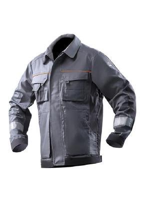 Куртка рабочая, еврокуртка, куртка из светоотражающей полосой