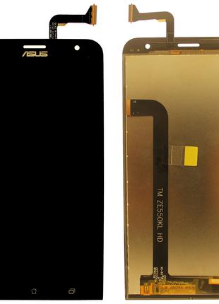 Дисплей Asus ZenFone 2 (ZE550kl, Z00LD) complete with touch Black