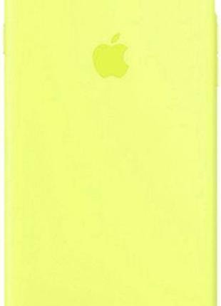 Чехол (Silicone Case) для iPhone 6 / iPhone 6S Yellow