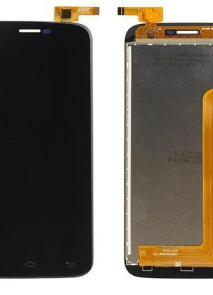 Дисплей Doogee Y100 Pro / Valencia 2 с тачскрином Black