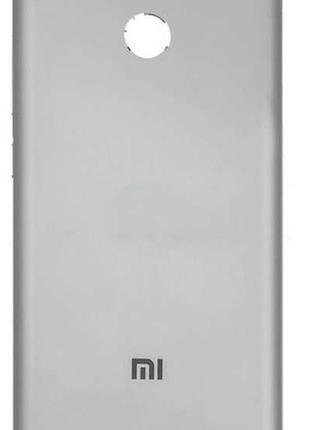 Задняя часть корпуса Xiaomi Redmi 3s Silver