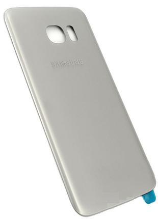 Задняя часть корпуса Samsung Galaxy S7 Edge, G935 Silver