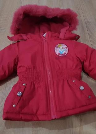 Деми - куртка для девочки tm disney р 89 - 95