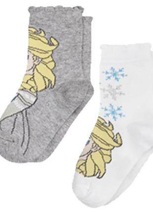 Набор  носков для девочки 2 пары lupilu р.23 - 26,27 - 30 цена...