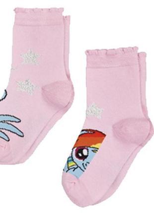 Набор носков для девочки 2 пары lupilu р.23 - 26,27 - 30 цена ...