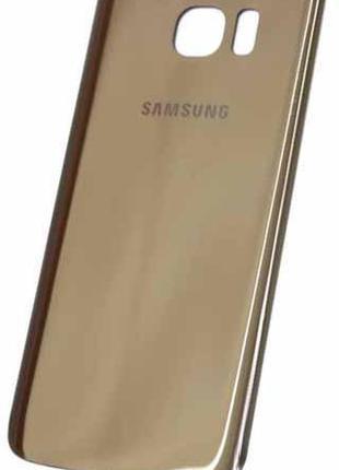 Задняя часть корпуса Samsung Galaxy S7 Edge / G935 Gold