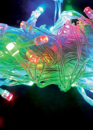 Электрогирлянда Yes! Fun светодиодная, 100 ламп, многоцветная,...