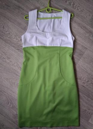 Натуральное нарядное платье
