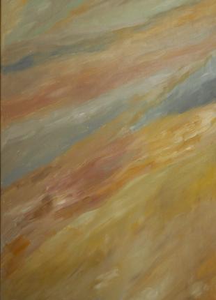 "Картина ""Горная река"". Абстракция."