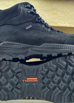Зимние водонепроницаемые ботинки кроссовки merrell forestbound...