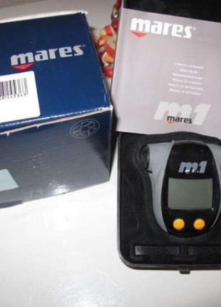 Дайв компьютер (dive computer) Mares M1, модель №414110, 150м(...