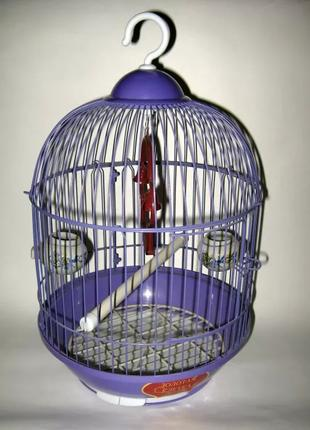 Клетка для маленьких птиц. Золотая клетка. Новая.