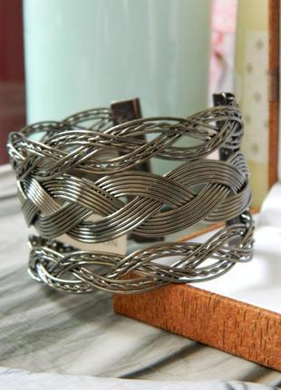 Браслет металл плетенный