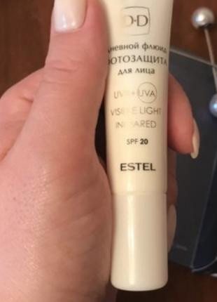 * в подарок ( при покупке от 20 грн ) флюид для лица estel gen...