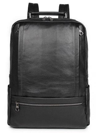 Рюкзак Vintage 14949 кожаный Черный