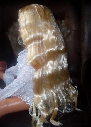 Парик маскарадный best toy блондинка длинные волосы -новый