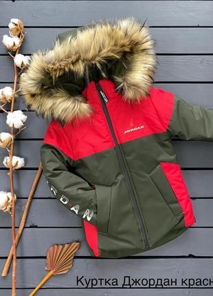 Куртка зимняя с удлиненной спинкой