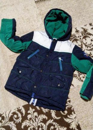 Зимняя куртка для мальчика 11-12 лет
