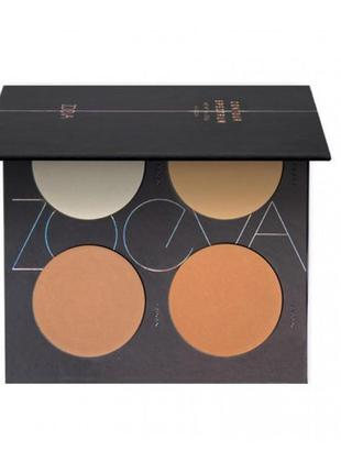 Палитра для контурирования zoeva contour spectrum powder palette