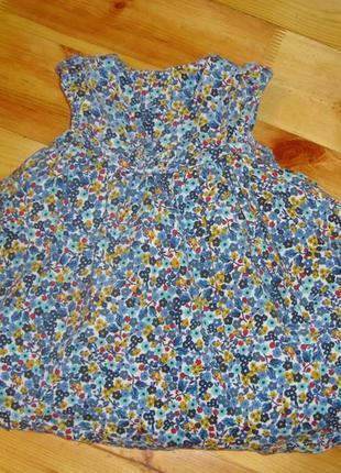 Платье mothercare 0-3 мес