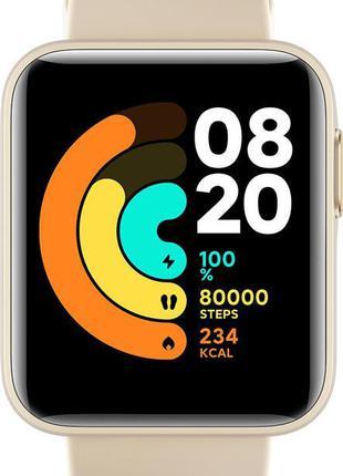 Смарт-часы Xiaomi Mi Watch Lite Ivory, 1.4 (320 х 320) TFT / B...