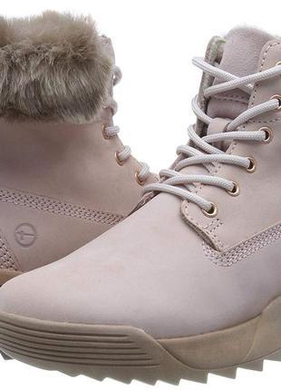 Tamaris ботинки, нубук, 37й и 40й размер.