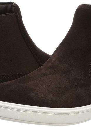 Clarks streetchelseak ботинки замшевые для мальчика.