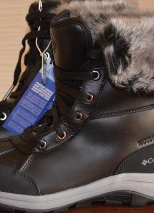Columbia bango ботинки зимние кожаные.