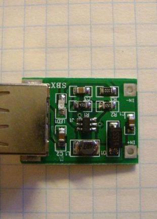 USB DC-DC Преобразователь Напряжения 800мА