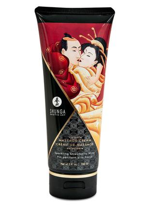 Съедобный массажный крем Shunga KISSABLE MASSAGE CREAM - Spark...