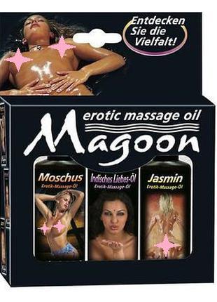 Набор массажных масел MAGOON (3*50 мл)