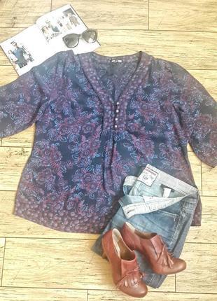 Вискозная блуза. туника. рубашка. подписчикам скидка 15%