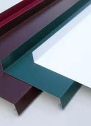 Водовідлив металевий оцинкований кольоровий