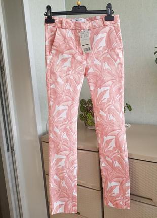Новые стрейчевые брюки джинсы цветные штаны