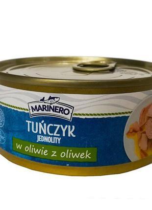 Тунец цельными кусочками в оливковом масле Marinero Tunczyk, 160г