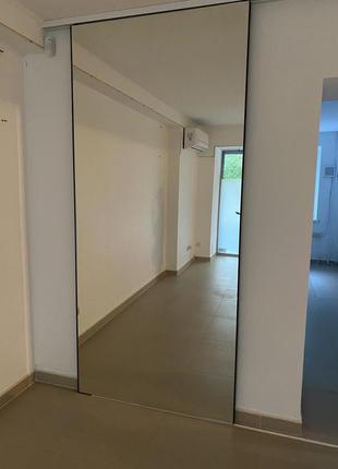 Зеркало-дверь купе