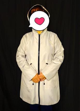 Легкий плащик. куртка ветровка 50/52 размер
