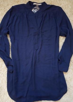 Шифоновая легкая блуза рубашка
