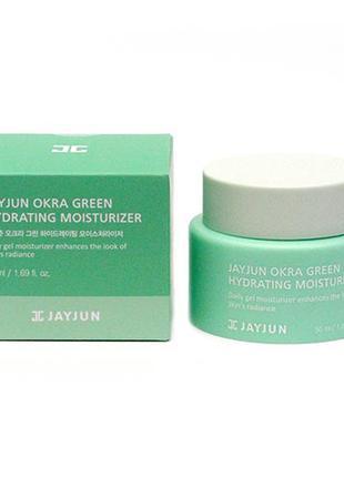 Питательный крем для лица JayJun Okra Green Hydrating Moisturizer