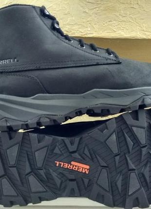 Зимние водонепроницаемые ботинки кроссовки merrell icepack gui...