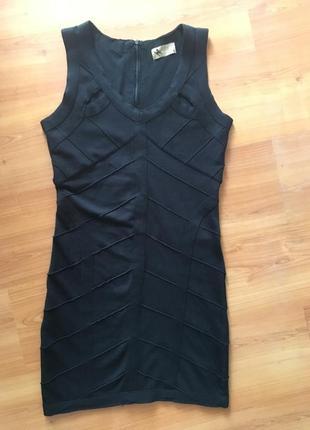 Платье вязанная резинка !
