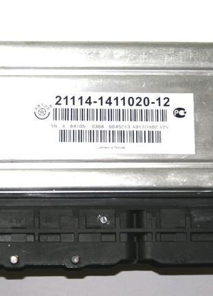 Блок управления инжектор 21114 Январь м73 (8 кл. 1.6) Евро-3 А...
