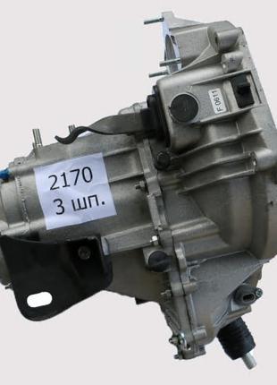 Коробка передач (КПП) ВАЗ 2172, 2112 Приора 5-ти ступ. (3.7) 3...