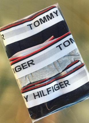 Набор мужские  брендовые трусы tommy hilfiger 3шт 350 грн!♥️