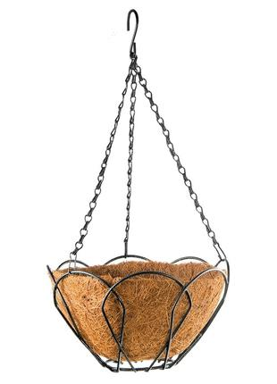 Подвесное кашпо, 25 см, с кокосовой корзиной PALISAD