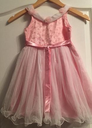 Нарядное платье с пышной юбкой !