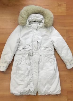 Качественная тёплая куртка пуховик  можно для беременных !