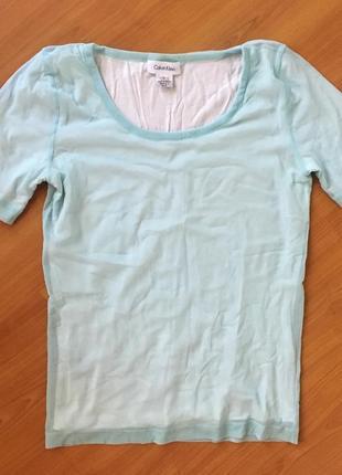 Нежная футболка сетка calvin klein оригинал !